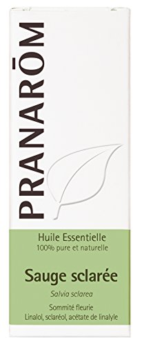 Pranarôm - Sauge Sclarée - Huile Essentielle - 10 ml