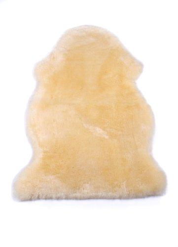Naturasan Peau De Mouton, Peau d'agneau, Tapis mouton naturel , pour bebe, 90 - 100 cm