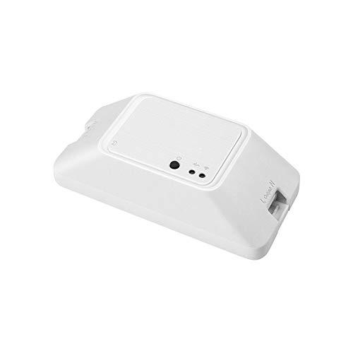 YCX Neuer Smart Switch Modifikation Drahtloser WLAN-Switch Voice Control,Basic Intelligent Timer Licht Halterung Timer Licht Halterung,Weiß