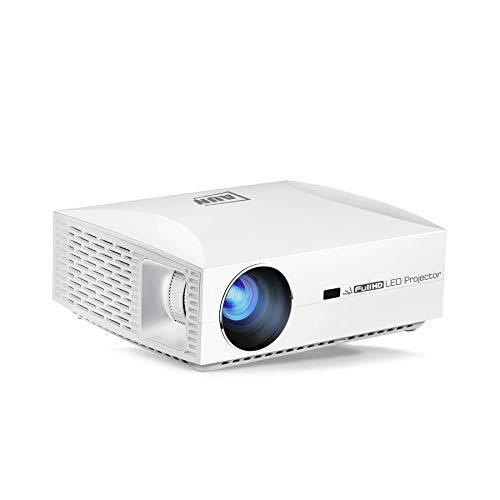 AUN Full HD-projector F30, 1920 x 1080 resolutie. Led-projector voor thuisbioscoop. 5500 lumen 3D Smart Beamer, vergelijkbaar met 4 K