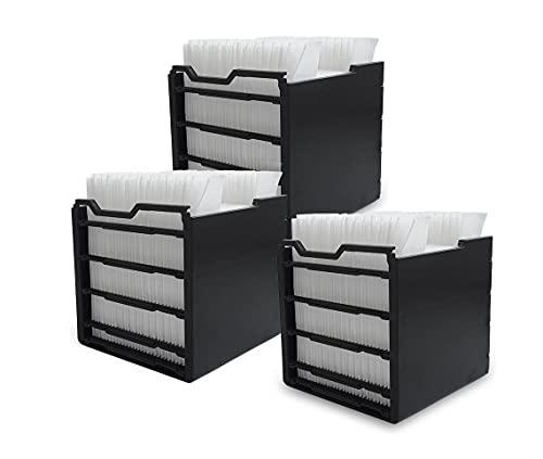 Livington Arctic Air Ersatzfilter 3 Stk. – Zubehör für das kompakte Klimagerät mit Verdunstungskühlung – Filter zum Nachfüllen für den Arctic Air Mini Luftkühler