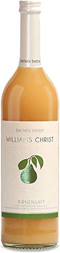 Beckers bester Sortenrein Birnensaft Williams-Christ EW, 6er Pack (6 x 700 ml)