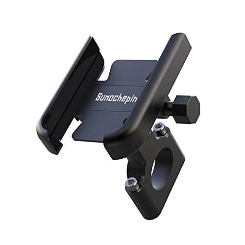 HSTG Soporte de teléfono de Bicicleta, Soporte de teléfono móvil de la Motocicleta, Accesorios de Montaje en Bicicleta por Carretera MTB, con rotación de 360 Grados