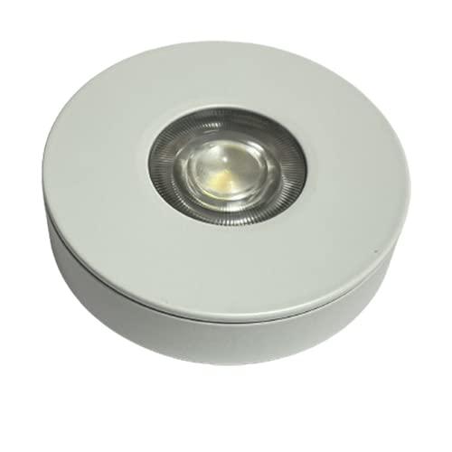 BEL AIR HOME - Downlight Empotrado de Superficie Blanco redondo - 5W - Luz LED COB