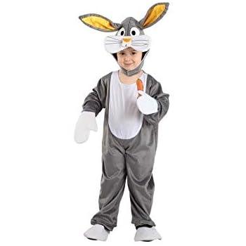 DISBACANAL Disfraz Conejo Bugs Bunny Infantil - -, 6 años: Amazon ...