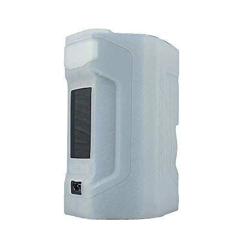 ORIN Schutzhülle Silikon Hülle für Wismec Luxotic DF Squonk SchützendSilikon Ärmel AbdeckungWickeln Haut Abziehbild(Durchscheinend)