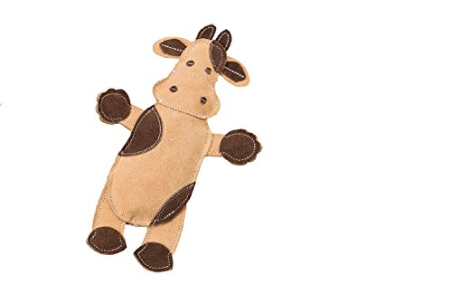 SPOT Ethical Pets Dura-Fused Leather Assorted Barnyard Animals Dog Toys  11