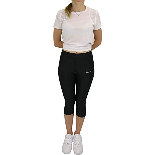 Nike W NK Speed CPRI Leggings Donna, Donna, Black, S