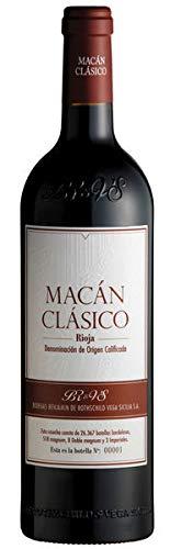 Macán Clásico Botella Vino Rojo Intenso, Cosecha 2017-750 ml
