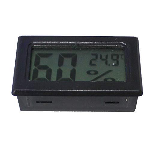 Vokmon Pantalla LCD para el hogar Digital electrónico de la Temperatura del termómetro del Metro del calibrador Sensor de Temperatura higrómetro el Detector Integrado
