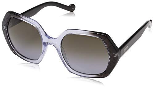 Liu Jo Lj667S 003 54 Gafas de sol, Black/Grey, Mujer