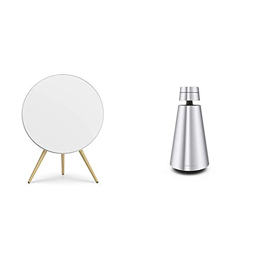 Sale!! Bang & Olufsen Beoplay A9 4th Gen Wireless Multiroom Speaker, White with Beosound 1 Wireless ...