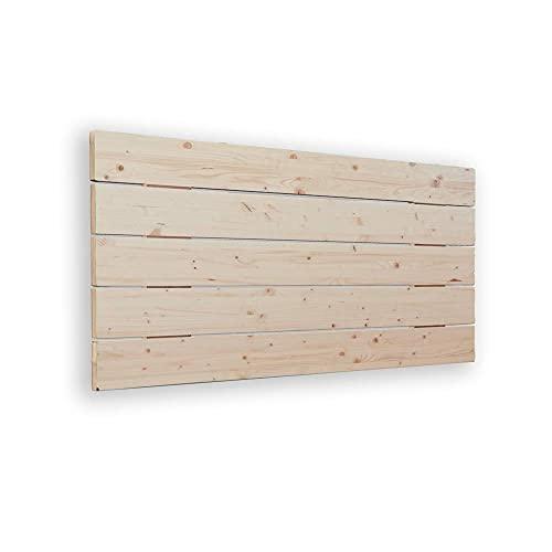 Silcar Home | Cabecero de Madera Modelo Avenco | 145 cm | Transporte Incluido | Anclajes incluidos | Cabecero para Camas de Madera | Palet rústico