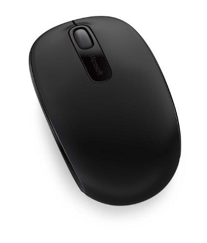 Microsoft U7Z-00005 Wireless MBL Mouse 1850 Win7/8 EN/XT/ZH/HI/KO/TH APAC Hdwr Black