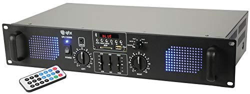 QTX | SPL1500M | Stereo Power Amplifier With Media player &...