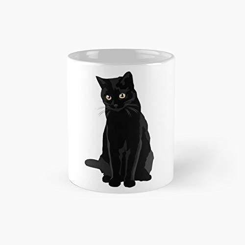 Black Cat Classic Mug 11, 15 Oz.