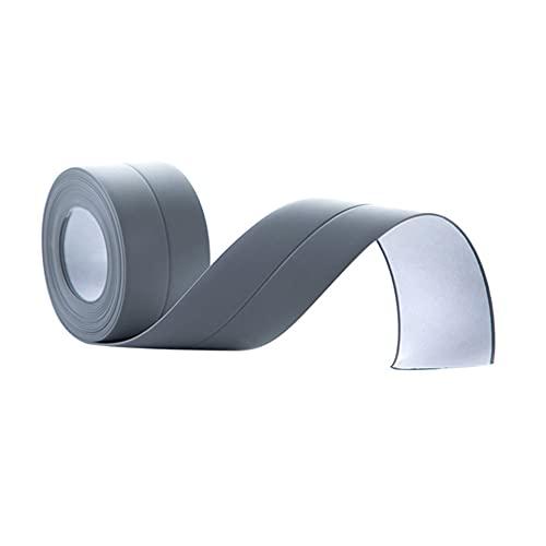 HAOXIU 3,8 x 320 cm para fregadero de cocina, impermeable, cinta de sellado antimoho, cinta de sellado autoadhesiva, perfecta para cocina, baño, bañera, aseo, suelo de pared