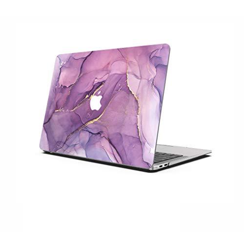 AOGGY - Custodia rigida per MacBook Air 11  (A1370 e A1465) porpora porpora 2020 MacBook Pro 13 Pulgadas (A2289   A2251)