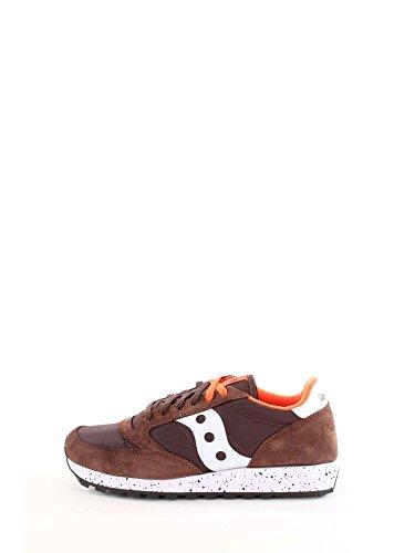 sneakers uomo marroni Saucony Scarpe Uomo Sneakers Basse S2044-458 Jazz Original Taglia 40 Marrone