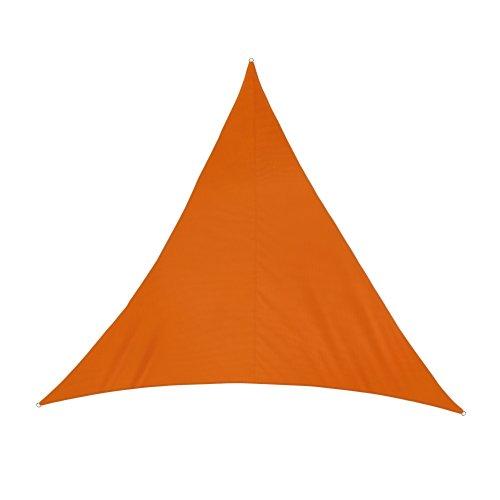jarolift Sonnensegel Dreieck wasserabweisend, 300 x 300 x 300 cm, orange