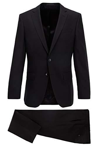 Jefe para hombre Huge6/Genius5 Slim fit traje en patrón Virgen lana Serge