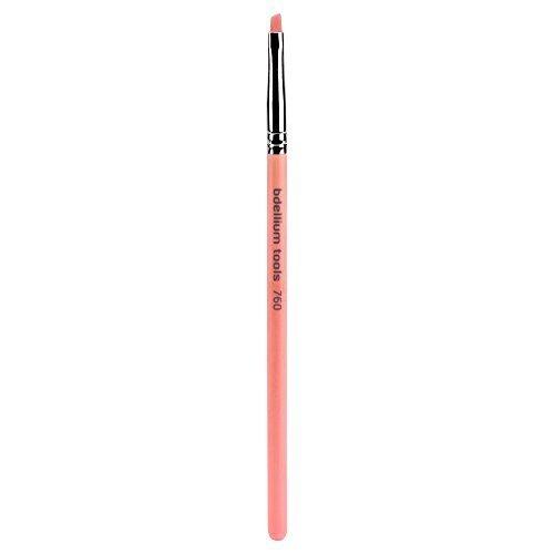 Bdellium Tools Professional Makeup Brush Pink Bambu Series - Liner / Brow 760 by Bdellium Tools