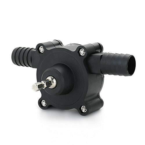 TRYIF Selbstansaugende Pumpe mit elektrischer Bohranlage, tragbare Bohrkraft mit selbstansaugender Pumpe, Öl mit selbstansaugender Pumpe, manuelle elektrische Bohrmaschine, Frischwasserförderpumpe