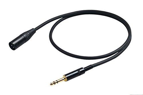 Proel CHL230LU10 - Cavo bilanciato professionale audio con connessione Jack Stereo 6,3 a Cannon XLR Maschio 3P - 10 mt. (10mt)