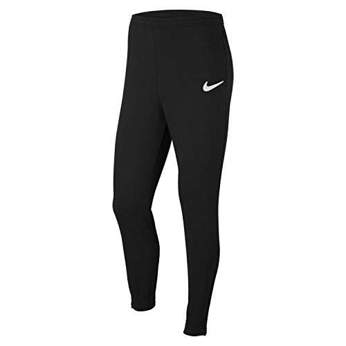 NIKE Park 20 Pantalones de chándal, Nero/Bianco/Bianco, L para Hombre