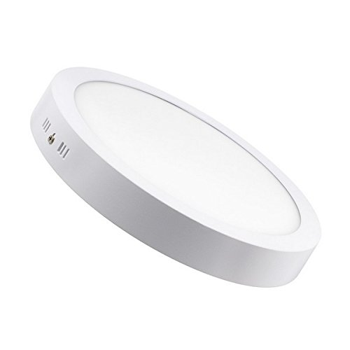 13mm Single | Natural Cool White 4000K Ultra Slim Long Life 50,000 Burning Hours 170mm Diameter: 145-155mm Cut Out Size LumeGlow LED 18W Recessed Round Downlight Ceiling Light