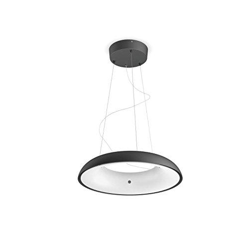 Philips Hue Amaze Lámpara Colgante Inteligente LED con Mando, Luz Blanca Cálida a Fría, Posibilidad de Control por Voz