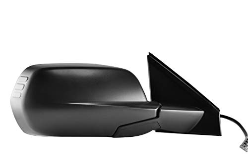 Right Passenger Side Textured Side View Mirror for 2007-2011 Honda CR-V - Parts Link # HO1321226 OEM # 76200SWAA01
