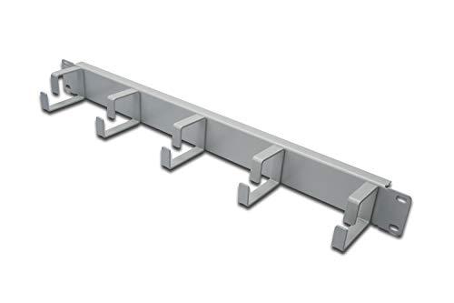 DIGITUS Professional DN-97601 19 Zoll Rangierpanel, 1 HE, 5 Kabelführungs Bügel