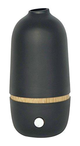 Onabyekobo  Diffuseur d'Huile Essentielle par Nébulisation Bambou/Verre Noir 100 x 100 x 205 cm