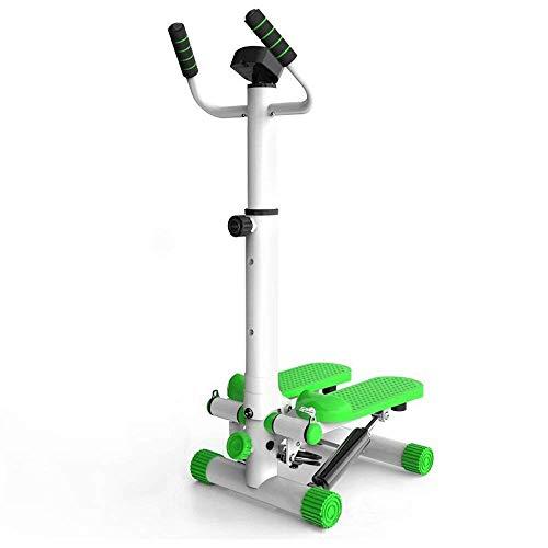 JKLL Pedana sotto la Guida e in Piedi, Pedale Passo-Passo Mini ellittico con Resistenza Regolabile e Display LCD, Venditore ambulante di Esercizi Fitness per casa e Ufficio