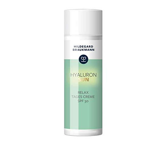 Hildegard Braukmann Hyaluron Sun Relax Tages Creme Lichtschutzfaktor 30, 1er Pack (1 x 50 ml)