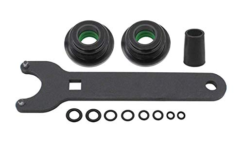 Seal kit replace for seastar for the front of the pivot model #HS5157 Mounting steering cylinder compatible with HC5340, HC5341-HC5348 HC5358 HC5365 HC5375 HC5394 HC5445 HC6750-HC6755