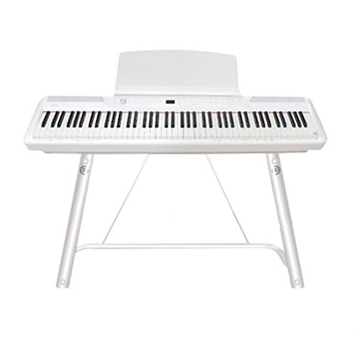 Nai-tripod Performance Instrumentenständer, Restaurant Ballsaal U-förmig Piano Stand - Kind lernt Übung elektronischen Keyboard Support Bracket (Color : Black, Size : Fits 88 Keys)
