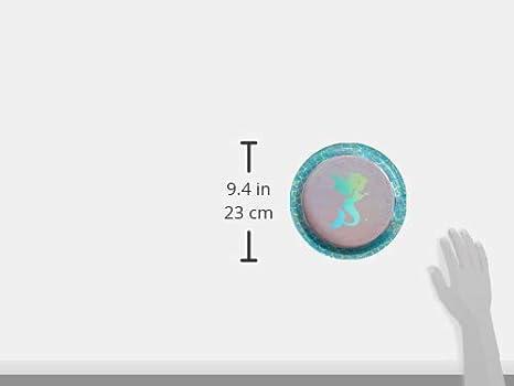 Creative Party PC336704 Mermaid Theme Paper Dinner Plates 8 Pcs