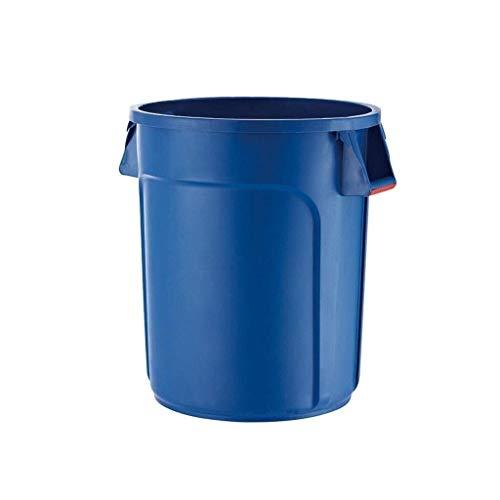 ZHANGJINYISHOP2016 Cubo de Basura Contenedor de Basura Redondo Contenedor de Basura Industrial Basurero Exterior 20 galones / 32...