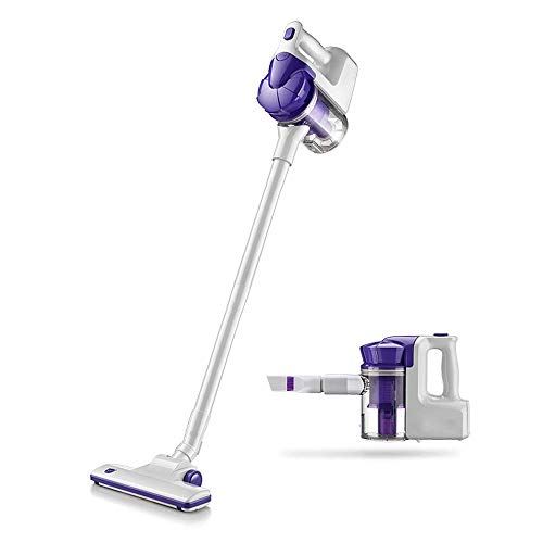 Stick Stofzuiger HEPA Filtration, Portable Lichtgewicht 2 in 1 Upright Handheld Bagless Electric Broom Stofzuiger vacuüm, ruige tapijtreiniger 8bayfa
