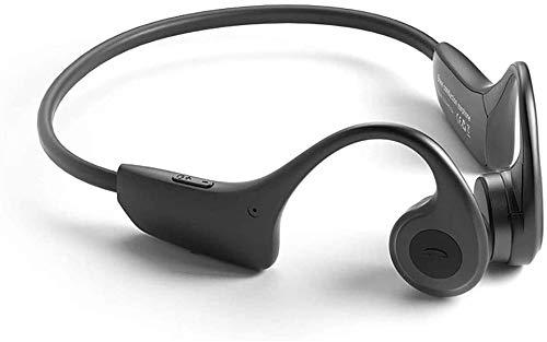 NCRD Auriculares de conducción ósea, Bluetooth 5.0, auriculares Bluetooth de la conducción de hueso inalámbrico for la aptitud deportiva, los auriculares deportivos for trabajar en marcha ciclismo, li