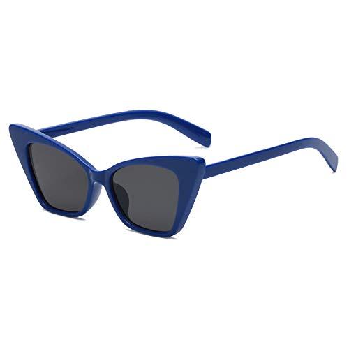 chuanglanja Gafas De Sol Juveniles Gafas De Sol Redondas Ovaladas Mujer Hombre Diamante Vintage Metal Gafas De Sol-Color-Y