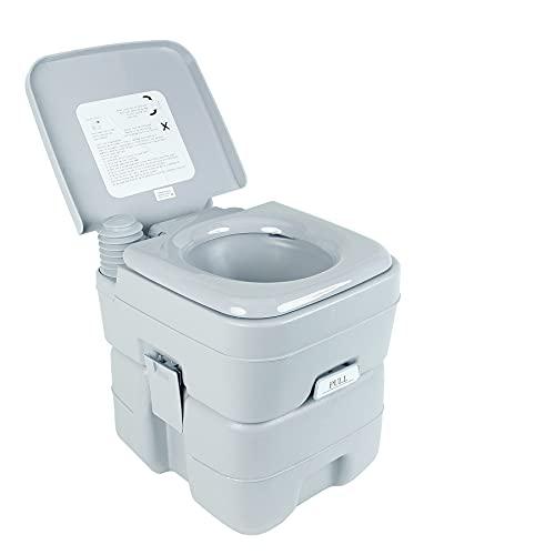 Z ZELUS Camping Toilette 20L Reise Toilette Sport Campingtoilette tragbar Abnehmbar Toilette Toilet für Wohnmobil Wohnwagen Caravan