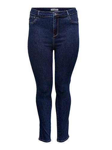 Bestseller CAROP Life SUPER HW SK Jeans DBD 63, blau(darkblueden (177938)), Gr. 44