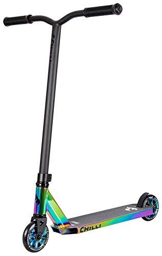 Chilli Scooter Rocky Neochrome 118-6 - Patinete Infantil, Color Cromado