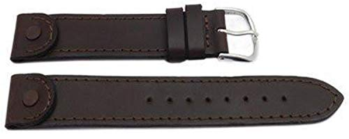 Swiss Army Brown 18MM Leather Men's Calvary Watch Band
