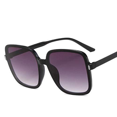 ShSnnwrl Gafas Sol De Hombre Mujer Polarizadas Sunglasses Moda Gafas De Sol De Gran Tamaño para Mujer Diseñador De Lujo Gafas De Sol Cuadr