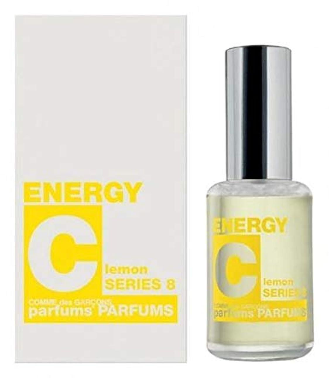 ミリメートル旅行地球Comme des Garcons Energy C series 8: Lemon Eau De Toilette 1 oz / 30 ml New In Box.