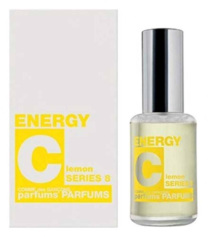 鳩オーラル占めるComme des Garcons Energy C series 8: Lemon Eau De Toilette 1 oz / 30 ml New In Box.